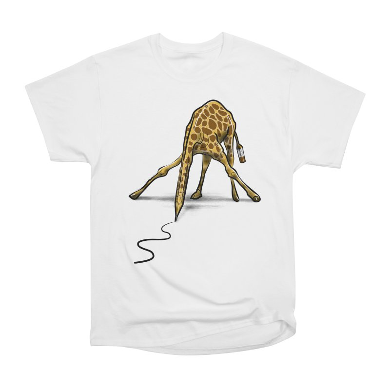 Draw-raffe Men's Classic T-Shirt by auntspray's Artist Shop