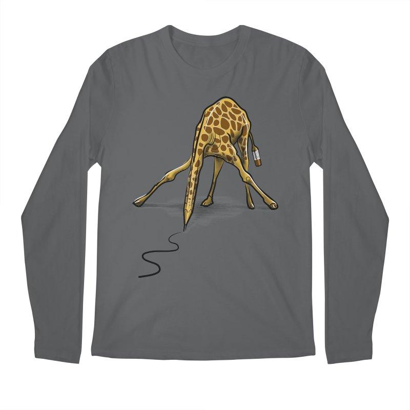 Draw-raffe Men's Regular Longsleeve T-Shirt by auntspray's Artist Shop