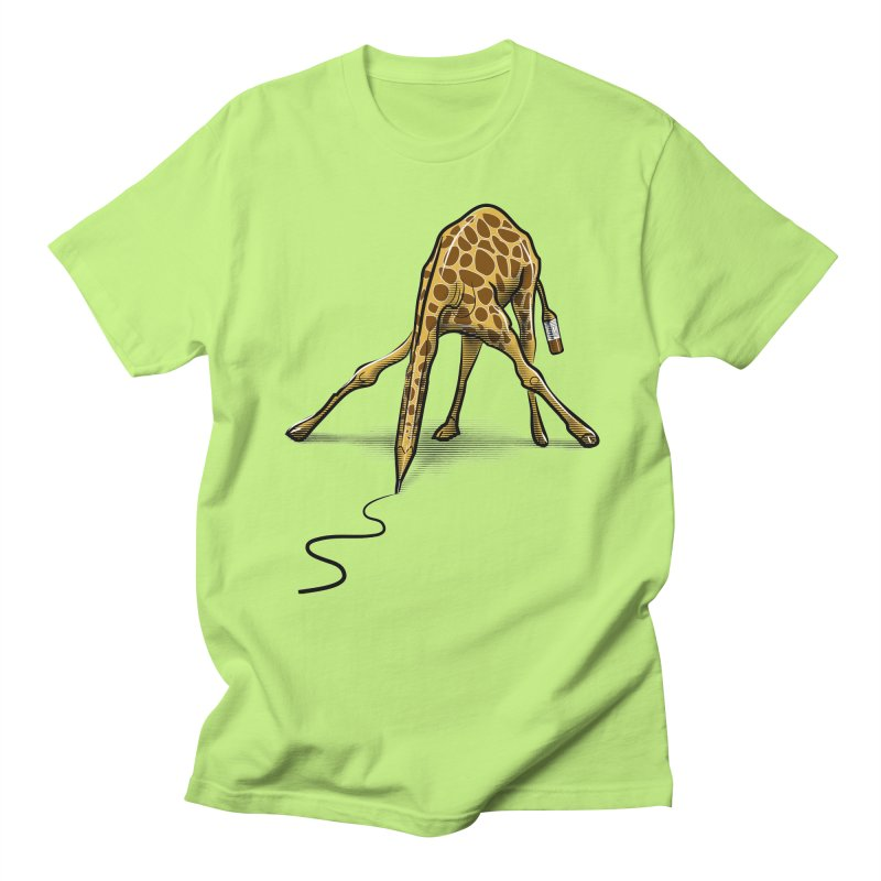Draw-raffe Men's T-shirt by auntspray's Artist Shop