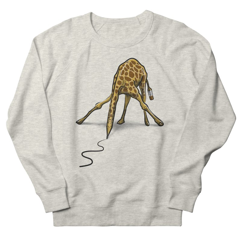 Draw-raffe Women's French Terry Sweatshirt by auntspray's Artist Shop