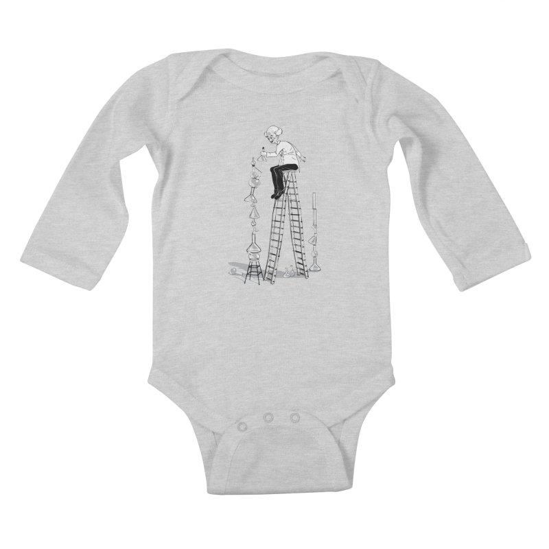 Last Day Before Retirement Kids Baby Longsleeve Bodysuit by auntspray's Artist Shop