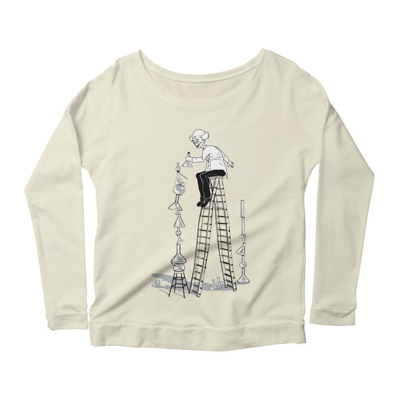 Last Day Before Retirement Women's Longsleeve Scoopneck  by auntspray's Artist Shop