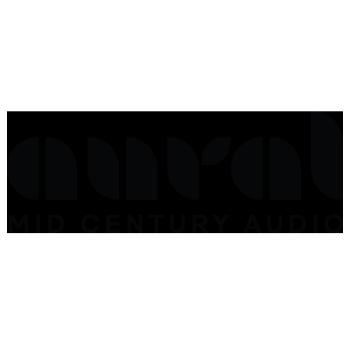 Aural Mid-Century Audio Apparel Logo