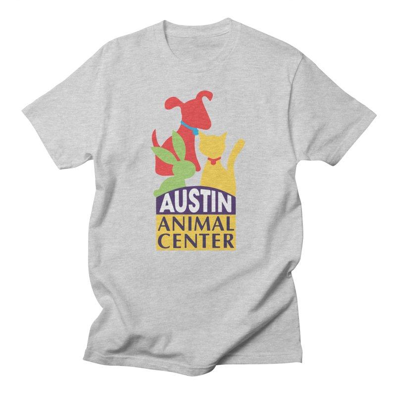AAC Logo - Color Men's T-Shirt by Austin Animal Center Shop