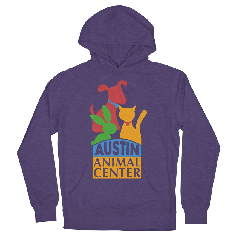 AAC Logo: Color Women's Pullover Hoody by Austin Animal Center Shop