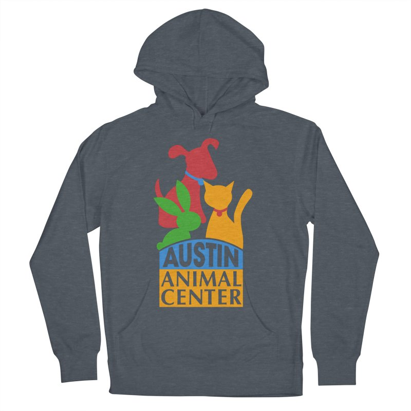 AAC Logo: Color Men's Pullover Hoody by Austin Animal Center Shop