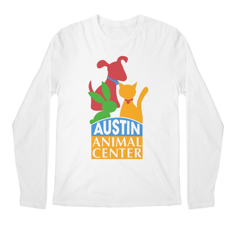 AAC Logo: Color Men's Longsleeve T-Shirt by Austin Animal Center Shop