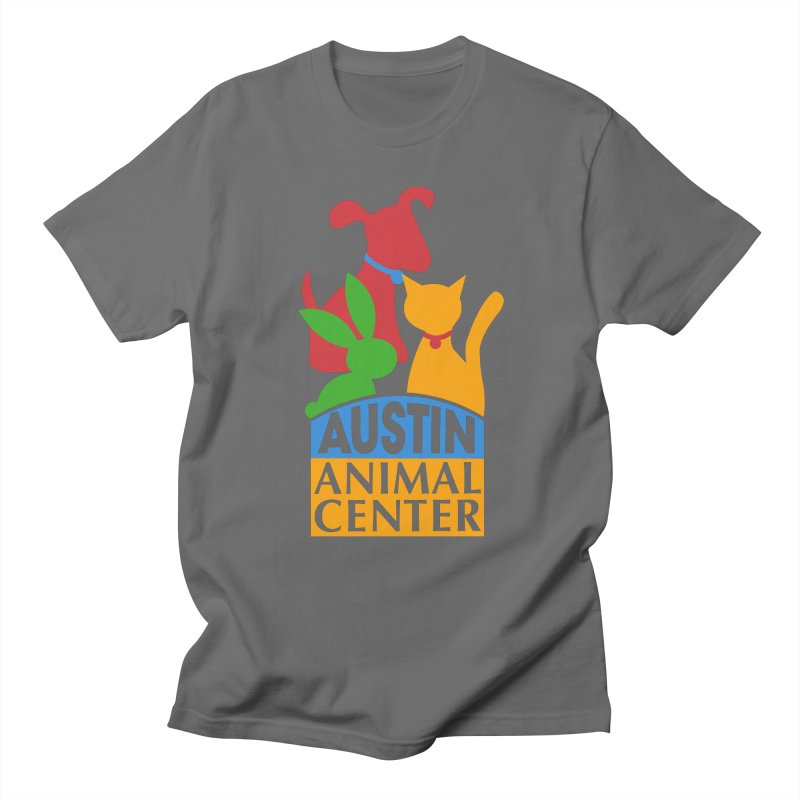 AAC Logo: Color Men's T-Shirt by Austin Animal Center Shop