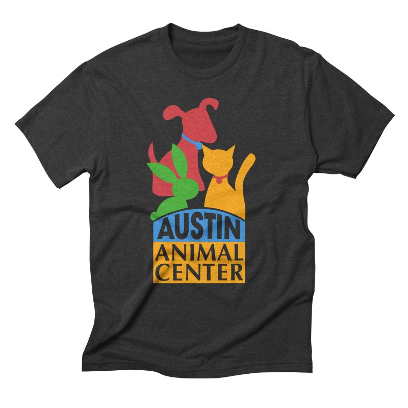 AAC Logo: Color Men's Triblend T-shirt by Austin Animal Center Shop