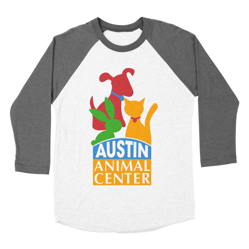 AAC Logo: Color Women's Baseball Triblend T-Shirt by Austin Animal Center Shop