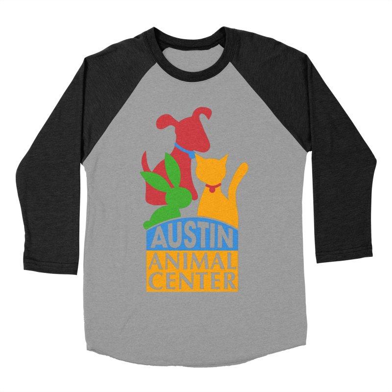 AAC Logo: Color Women's Baseball Triblend T-Shirt by Austin Animal Center Shop