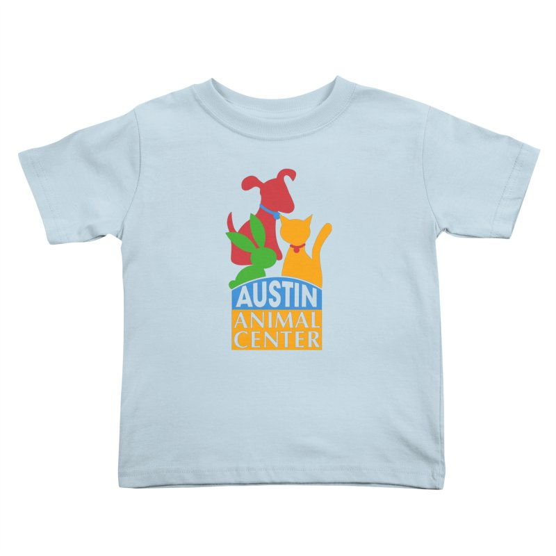 AAC Logo: Color Kids Toddler T-Shirt by Austin Animal Center Shop
