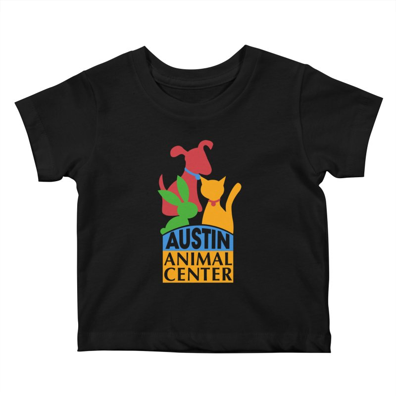 AAC Logo: Color Kids Baby T-Shirt by Austin Animal Center Shop