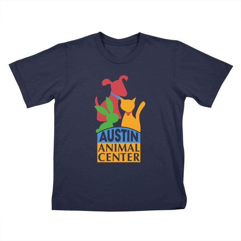 AAC Logo: Color Kids T-shirt by Austin Animal Center Shop