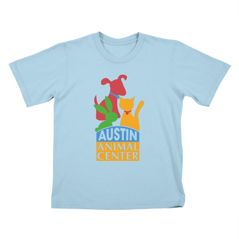 AAC Logo: Color Kids T-shirt by Austin Animal Center Shop