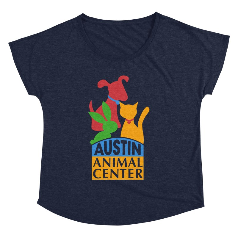AAC Logo: Color Women's Dolman by Austin Animal Center Shop