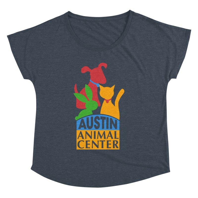 AAC Logo: Color Women's Dolman by Austin Animal Center Shop