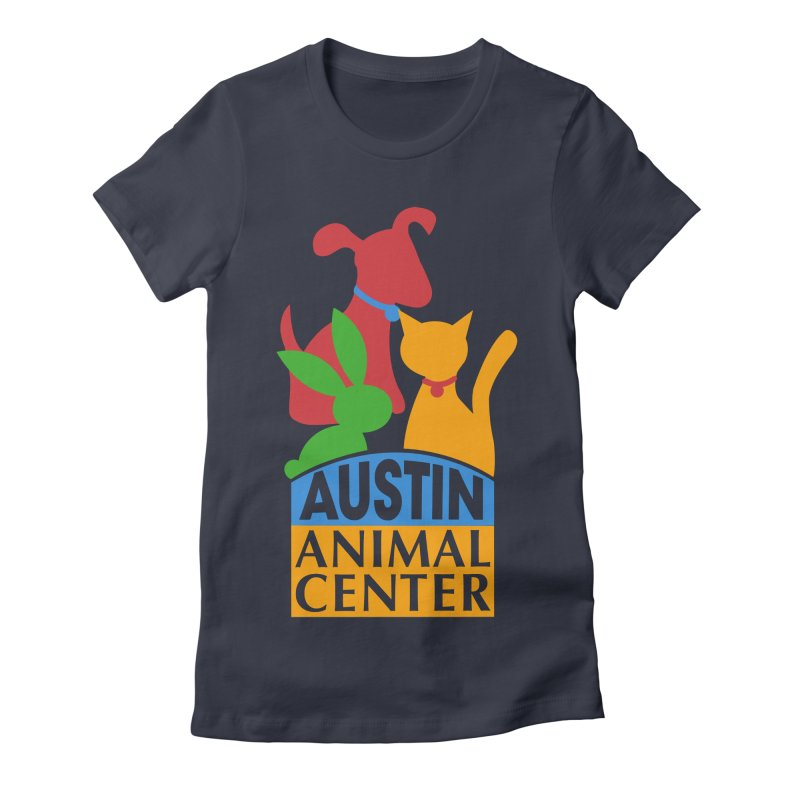 AAC Logo: Color Women's Fitted T-Shirt by Austin Animal Center Shop