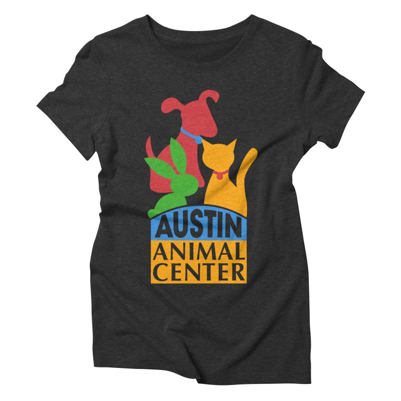 AAC Logo: Color Women's Triblend T-shirt by Austin Animal Center Shop