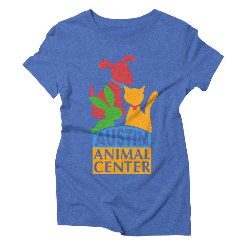 AAC Logo: Color Women's Triblend T-shirt by Austin Animal Center Shop