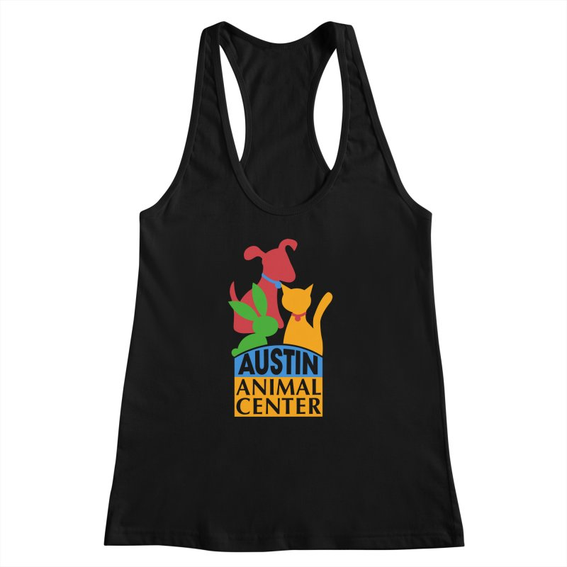 AAC Logo: Color Women's Racerback Tank by Austin Animal Center Shop