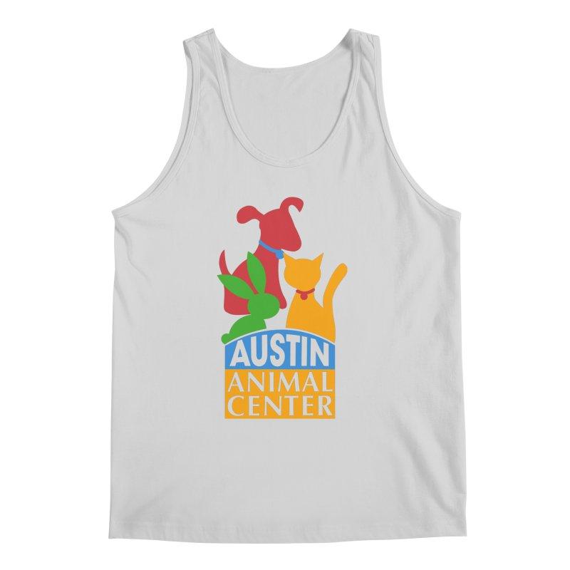 AAC Logo: Color Men's Tank by Austin Animal Center Shop