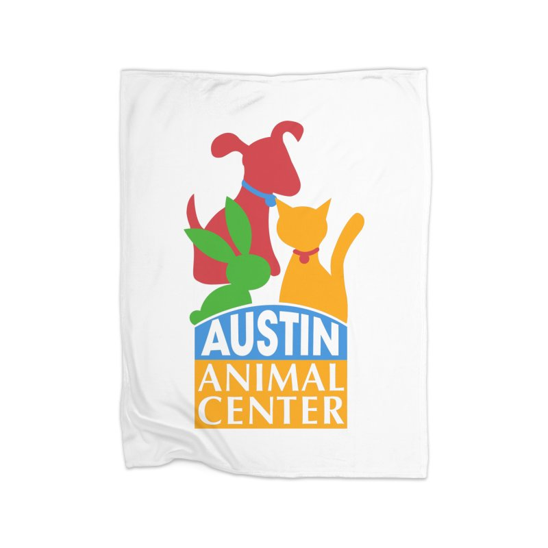 AAC Logo: Color Home Blanket by Austin Animal Center Shop