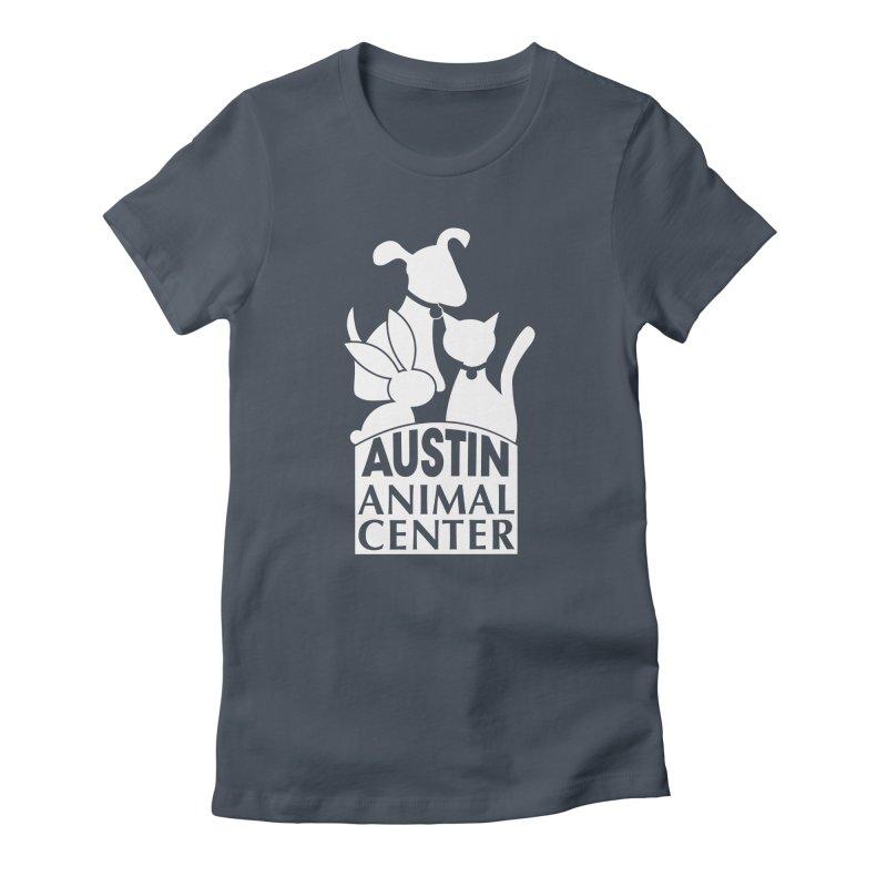 AAC Logo: White Women's T-Shirt by Austin Animal Center Shop