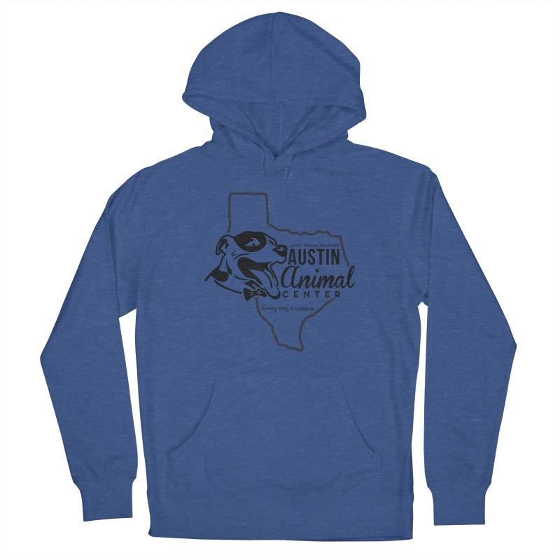 Every dog is unique Men's Pullover Hoody by Austin Animal Center Shop