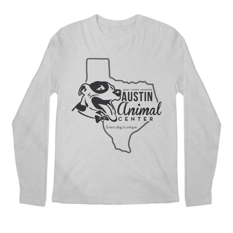 Every dog is unique Men's Longsleeve T-Shirt by Austin Animal Center Shop