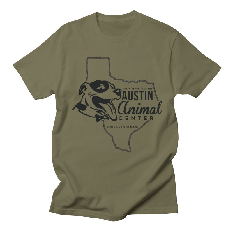 Every dog is unique Men's T-Shirt by Austin Animal Center Shop