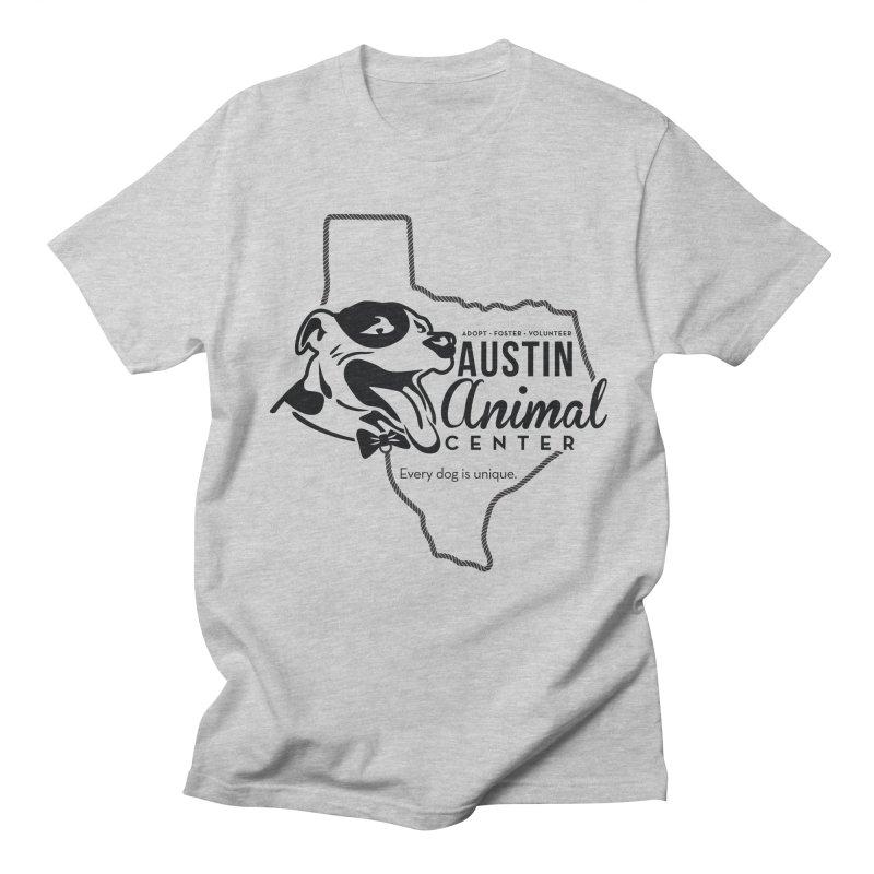 Every dog is unique Men's T-shirt by Austin Animal Center Shop