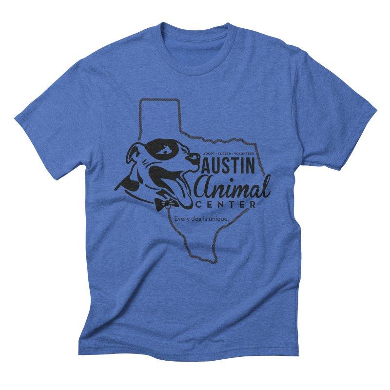 Every dog is unique Men's Triblend T-Shirt by Austin Animal Center Shop