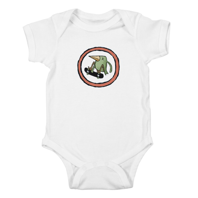 Shred to Death Kids Baby Bodysuit by austinbeale's Artist Shop