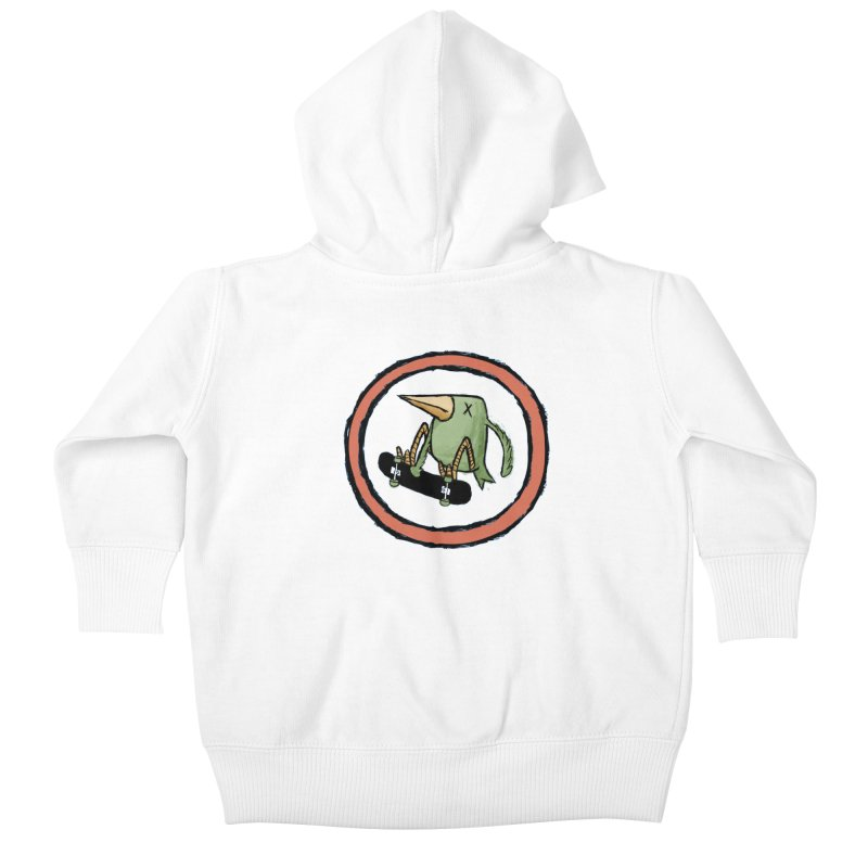 Shred to Death Kids Baby Zip-Up Hoody by austinbeale's Artist Shop