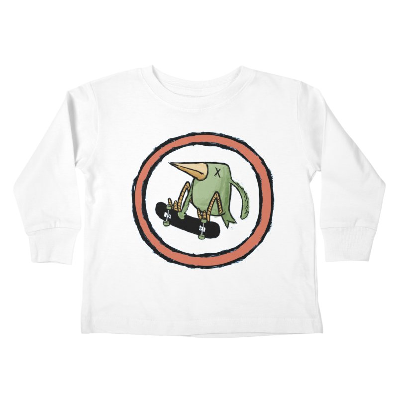 Shred to Death Kids Toddler Longsleeve T-Shirt by austinbeale's Artist Shop