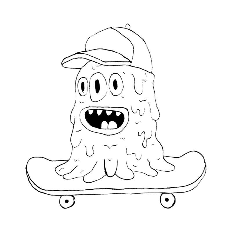 slime skate Men's Pullover Hoody by austinbeale's Artist Shop
