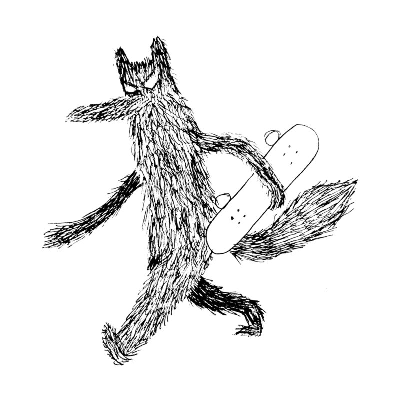 skate wolf   by austinbeale's Artist Shop
