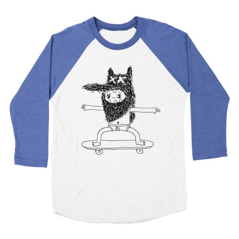 board thief  Men's Baseball Triblend T-Shirt by austinbeale's Artist Shop