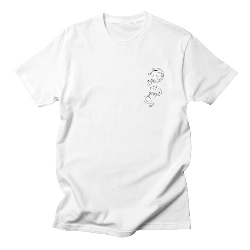 skate snake Men's T-Shirt by austinbeale's Artist Shop