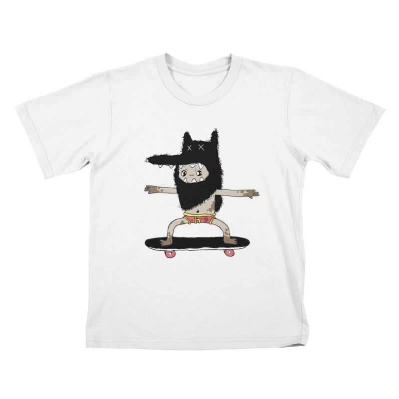 colored maniac  Kids T-Shirt by austinbeale's Artist Shop