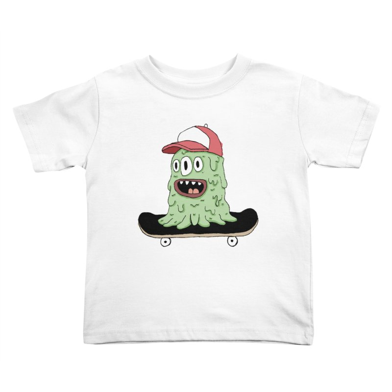 color slime Kids Toddler T-Shirt by austinbeale's Artist Shop