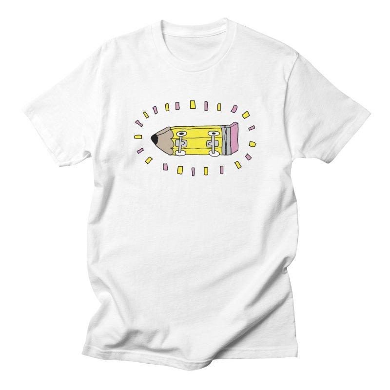 Pencil Deck Men's T-shirt by austinbeale's Artist Shop
