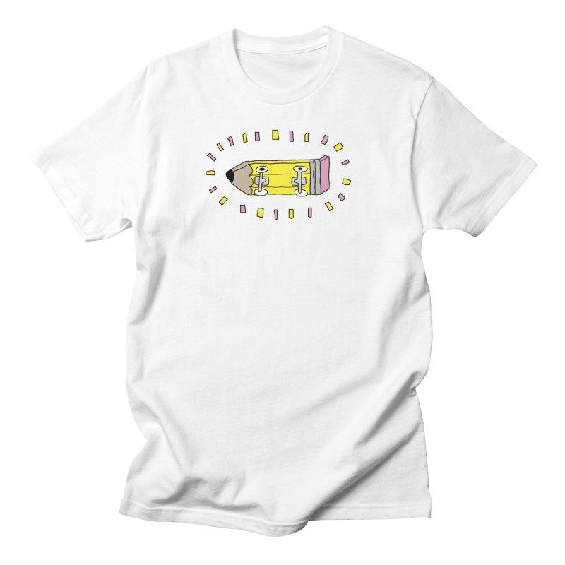 Pencil Deck Men's Regular T-Shirt by austinbeale's Artist Shop