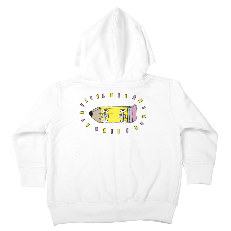 Pencil Deck Kids Toddler Zip-Up Hoody by austinbeale's Artist Shop