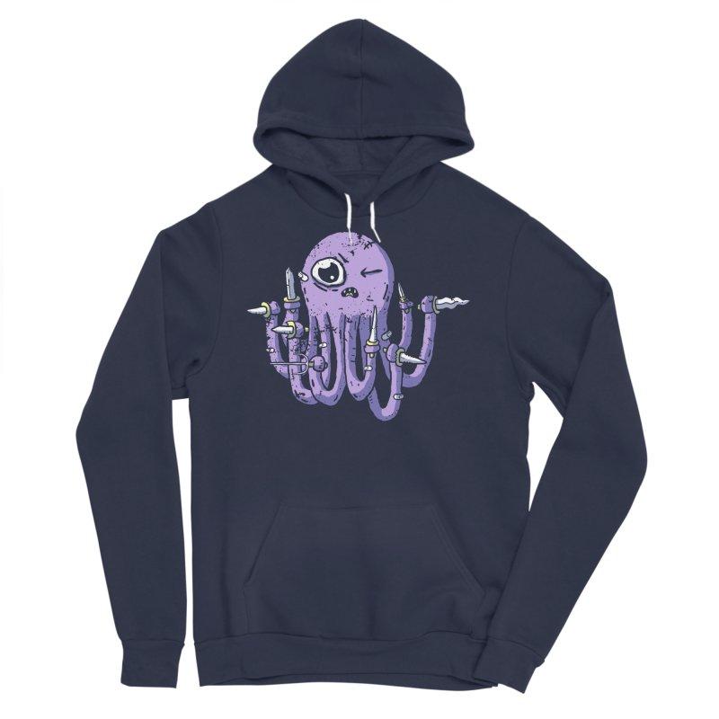 Staby Octopus Women's Sponge Fleece Pullover Hoody by austinbeale's Artist Shop