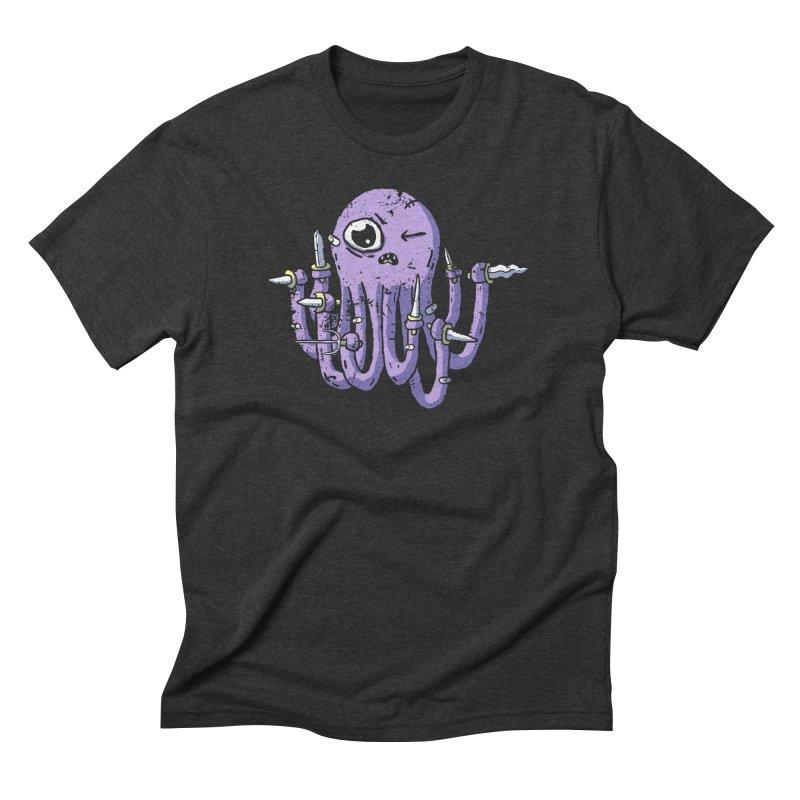 Staby Octopus Men's Triblend T-Shirt by austinbeale's Artist Shop