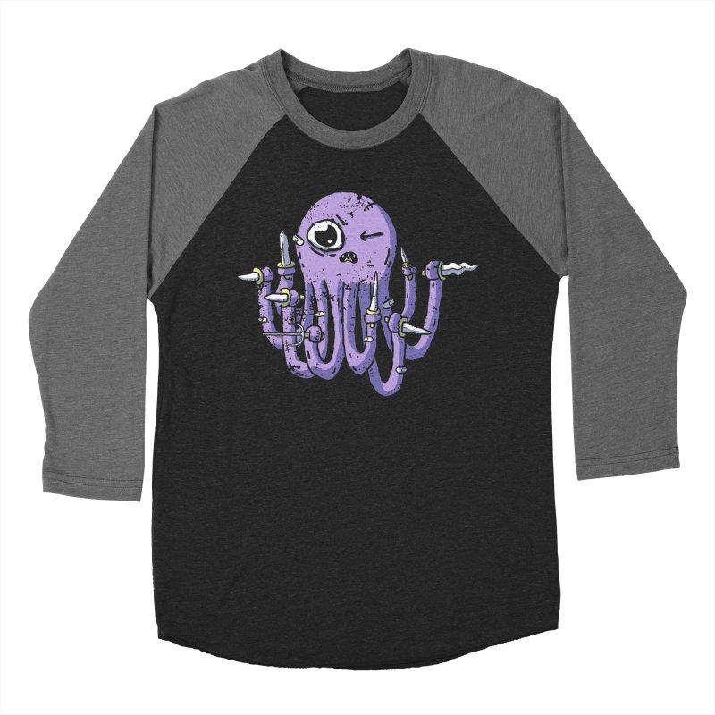 Staby Octopus Women's Baseball Triblend Longsleeve T-Shirt by austinbeale's Artist Shop