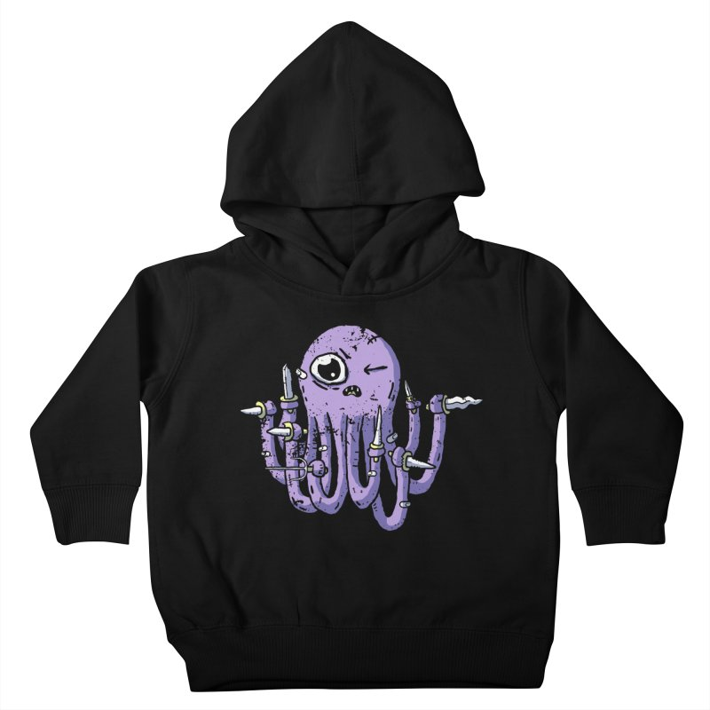 Staby Octopus Kids Toddler Pullover Hoody by austinbeale's Artist Shop