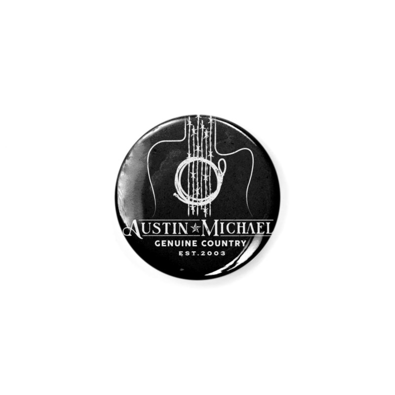 AustinMichael - Genuine Country Design Accessories Button by austinmichaelus's Artist Shop